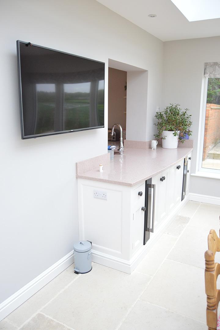 pink kitchen h m interiors gallery